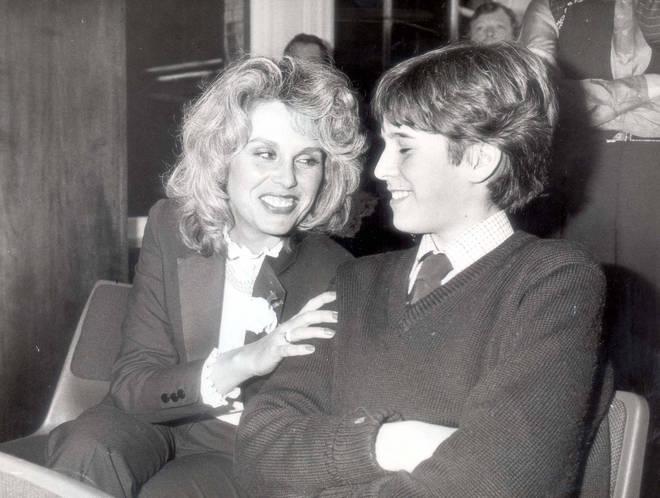 Joanna and James Lumley in 1981