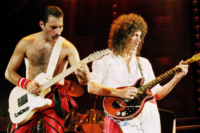 Artwork from Queen's albums and pictures from their live performances will appear on the Royal Mail stamps
