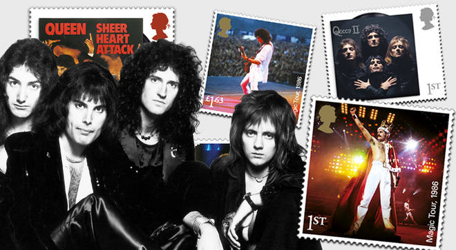 Rock band Queen will appear on Royal Mail stamps to honour their 50th anniversary