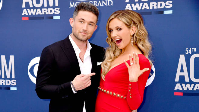 Country stars Michael Ray and Carly Pearce split as 'Carly files for divorce'