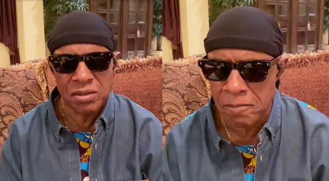 Stevie Wonder shares Black Lives Matter video and asks people to vote in upcoming elections