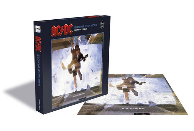 AC/DC are releasing jigsaw puzzles of their album artwork