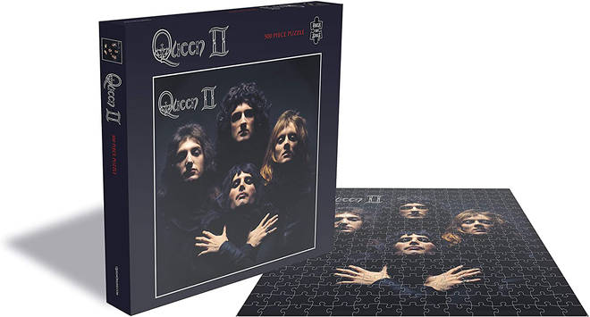 Spend the evening working on this Queen album jigsaw puzzle