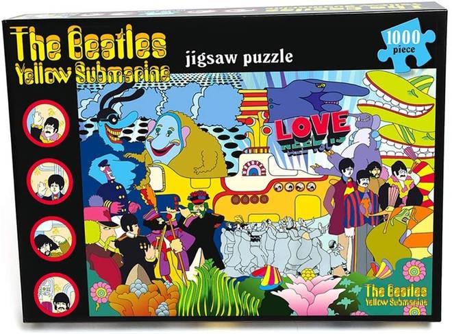 The Beatles 'Yellow Submarine' jigsaw puzzle