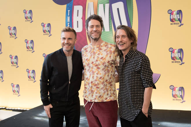 Take That musical 'The Band' is being turned into a movie by Gary, Robbie, Mark and Howard