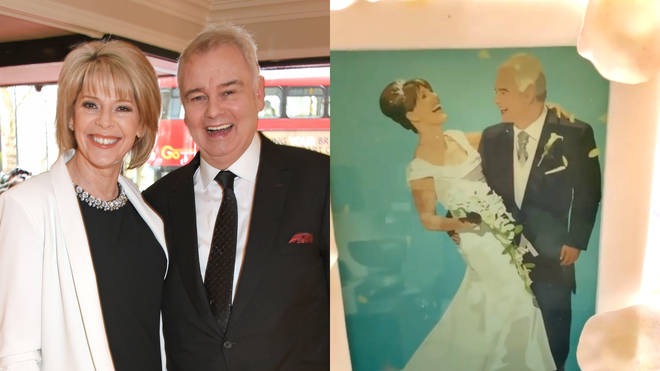 Eamonn and Ruth celebrated their 10th wedding anniversary