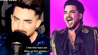 Queen vocalist Adam Lambert covers Tears For Fears' 'Mad World'