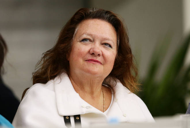 Gina Rinehart is the richest person in Australia