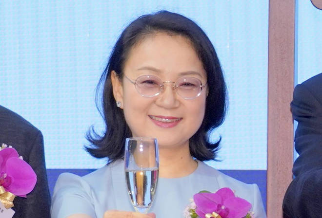 Zhong Huijuan is the richest self-made woman in Asia