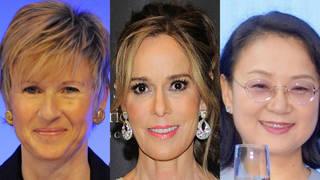 (L to R) Susanne Klatten, Julia Koch and Zhong Huijuan are among the top 10 richest women in the world