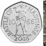 The 50p coin sold for £63,100 on auction site  eBay