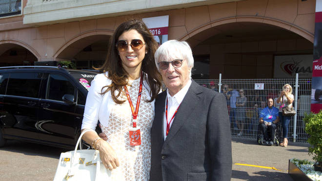 Bernie Ecclestone, 89, welcomes baby son with wife Fabiana Flosi as he announces birth of fourth child