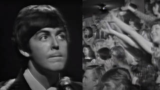 Paul McCartney was performing on The Ed Sullivan Show with The Beatles in 1965