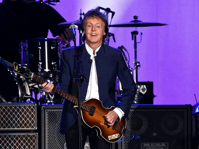 Paul McCartney has gone on to become the most successful musician of all time. Pictured on October 15, 2016 in Indio, California
