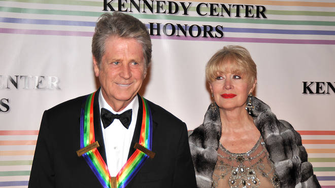 Brian and wife Melinda in 2007