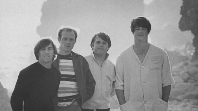 Dennis Wilson, Mike Love, Carl Wilson and Brian Wilson