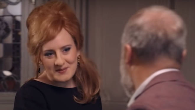 Adele revealed her new look to a gobsmacked Graham Norton