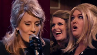 Adele went undercover to surprise a group of Adele impersonators for a TV show