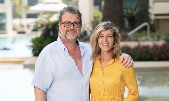 Kate Garraway with husband Derek Draper