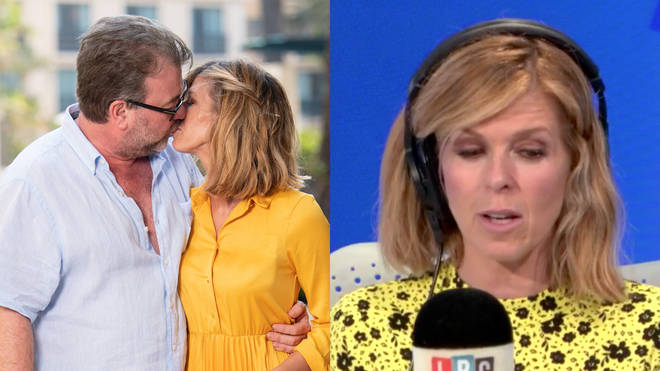 Kate Garraway appeared with James O'Brien on LBC