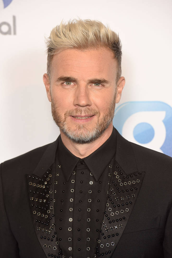 Gary Barlow attends The Global Awards on March 1, 2018