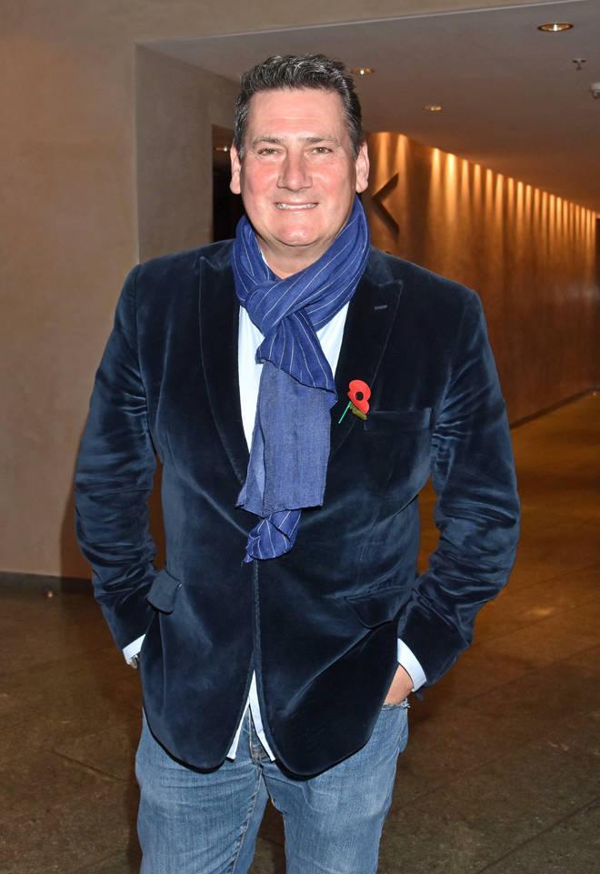 Tony Hadley pictured in Berlin in November 2019