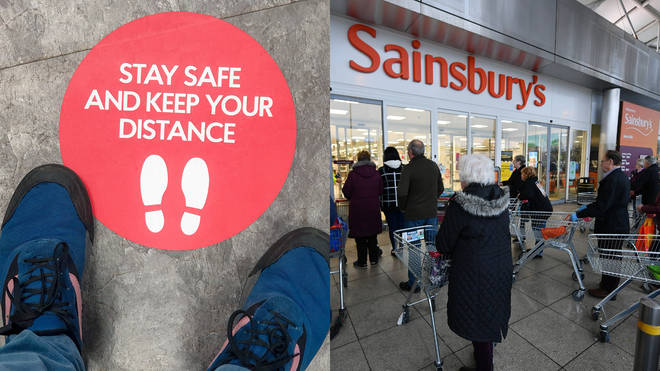 Tesco, Sainsbury's and Asda have updated their social distancing rules