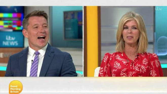 Kate Garraway and Ben Shephard laughed as they told the audience all the things that had gone wrong this morning