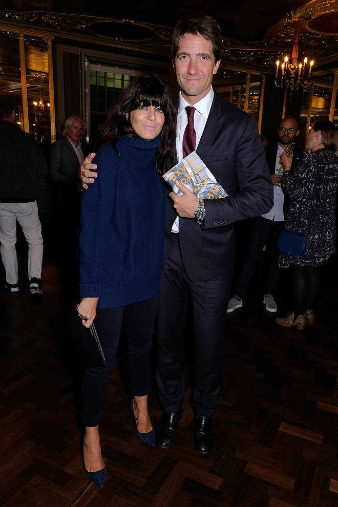 Claudia Winkleman husband