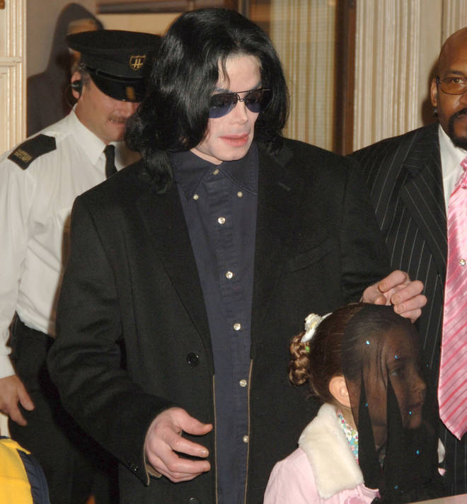 Michael Jackson and daughter Paris in 2005