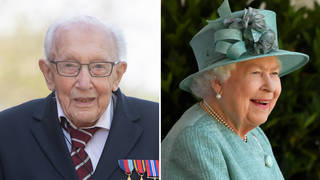 Captain Tom Moore will be knighted by The Queen