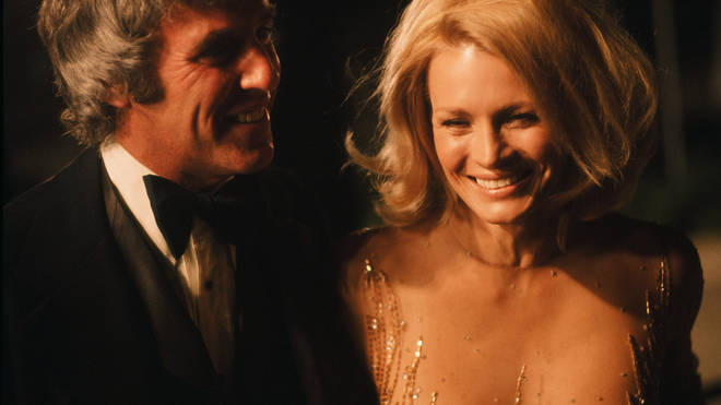 Burt Bacharach and Angie Dickinson in 1976