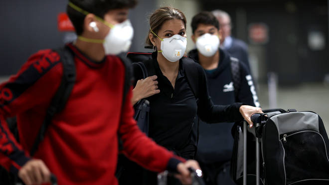 It is compulsory in the UK to wear a face mask when travelling on public transport