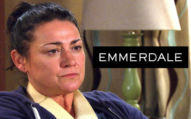 Emmerdale's Moira Barton actress Natalie J. Robb reveals she is dating soap co-star