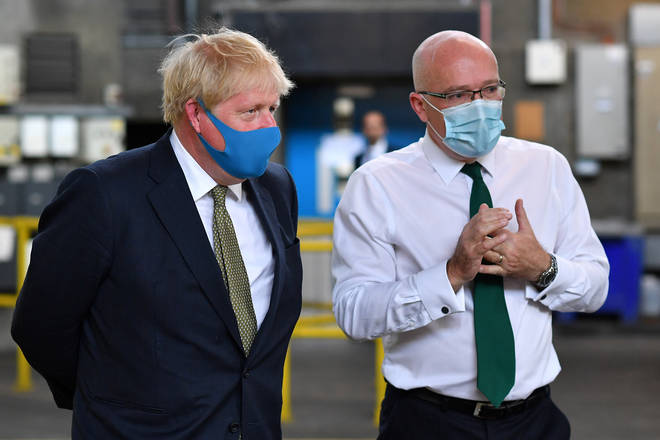Prime Minister Visits Ambulance Company In Central London July 13