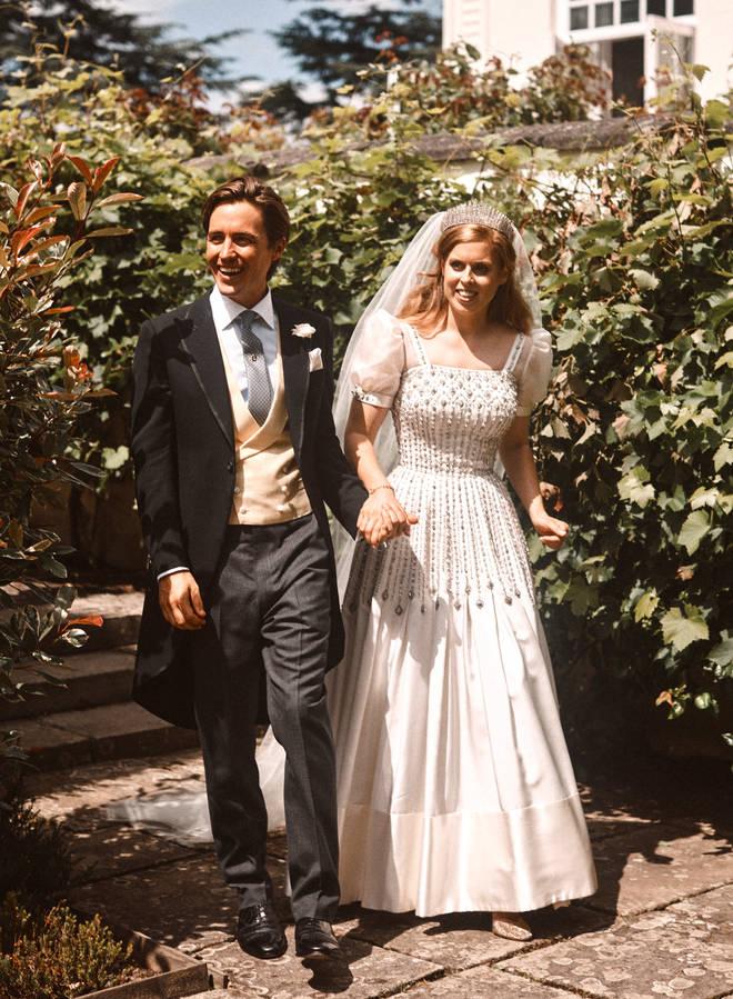 Princess Beatrice tied the knot with Edoardo 'Edo' Mapelli Mozzi