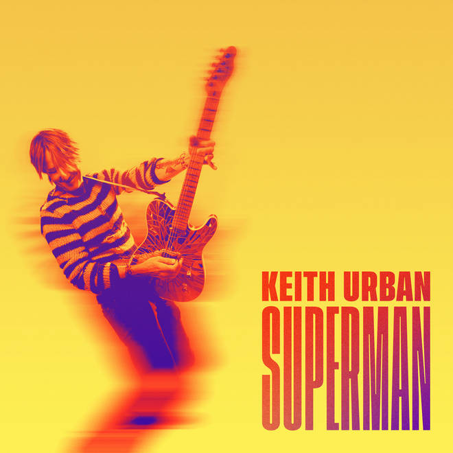 Keith Urban releases brand new music video for 'Superman'