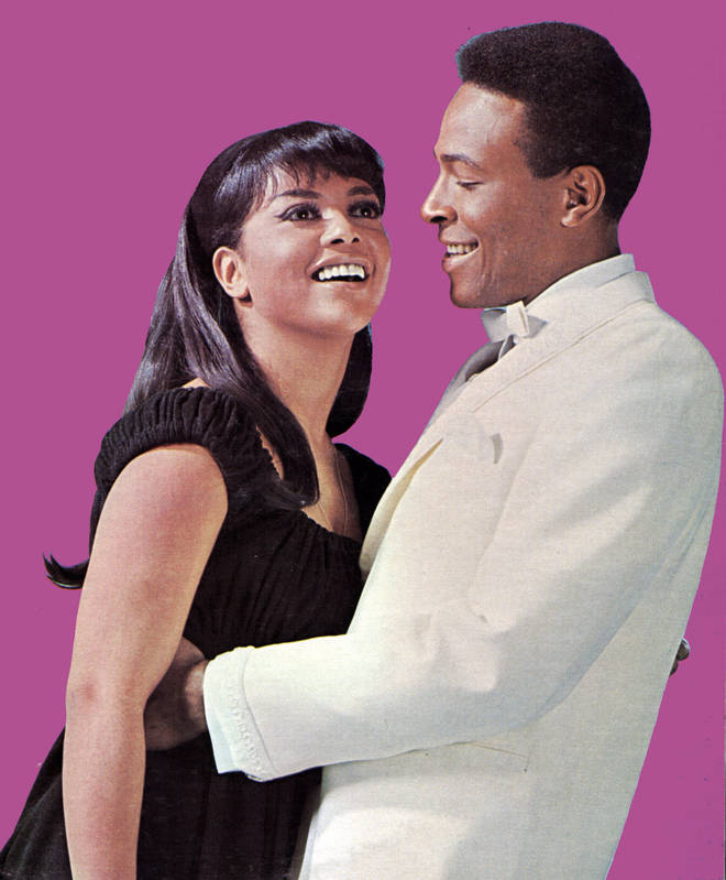 Marvin Gaye and Tammi Terrell sang together on many hits
