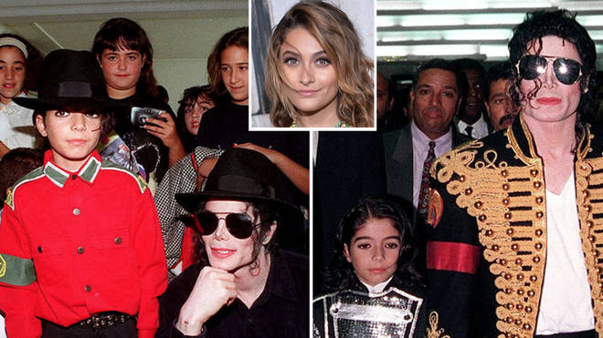 Paris Jackson has opened up about her third brother Omer Bhatti, pictured left and right with Michael Jackson