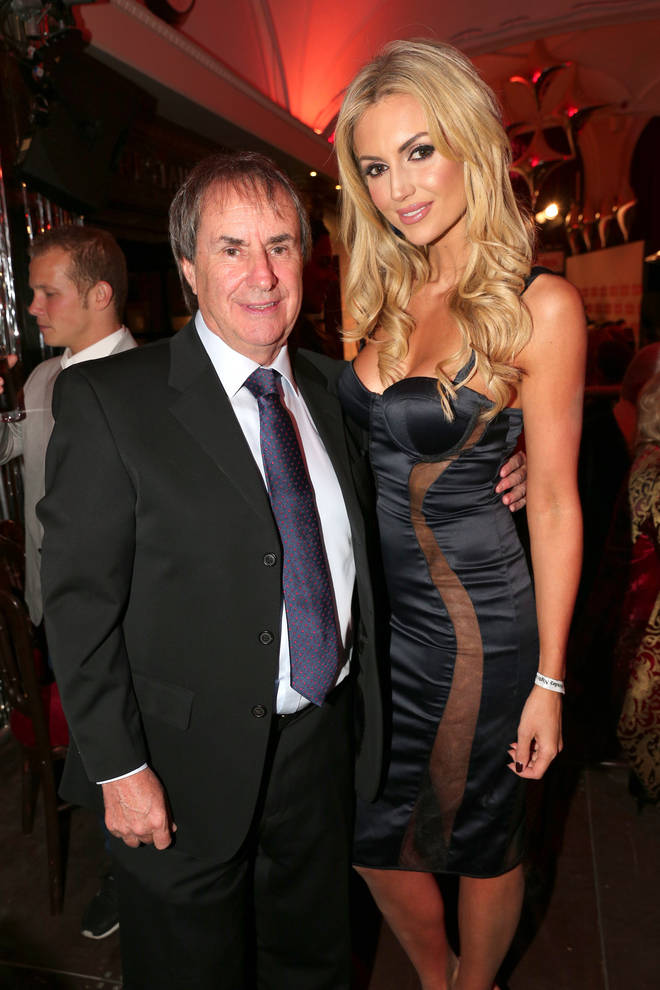 Chris de Burgh and his daughter Rosanna Davison pictured in 2017