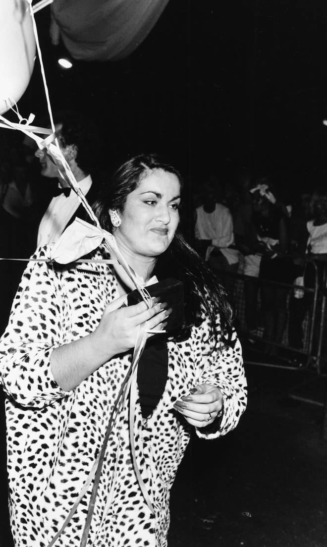 George Michael's sister Melanie Panayiotou, pictured in 1986