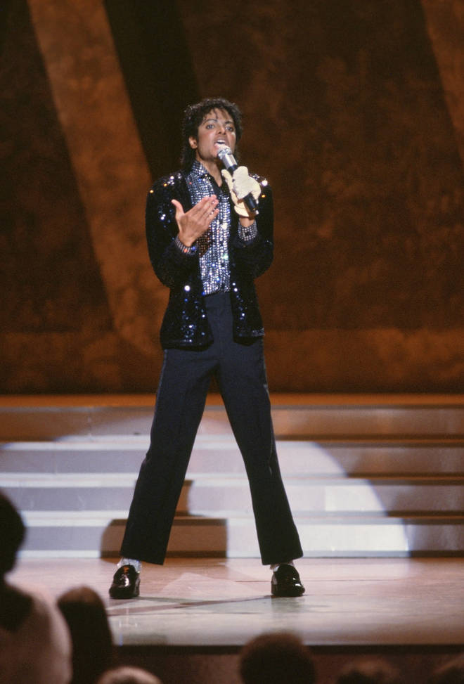 Michael Jackson performs 'Billie Jean' on the TV show Motown 25 - Yesterday, Today, Forever on May 16, 1983