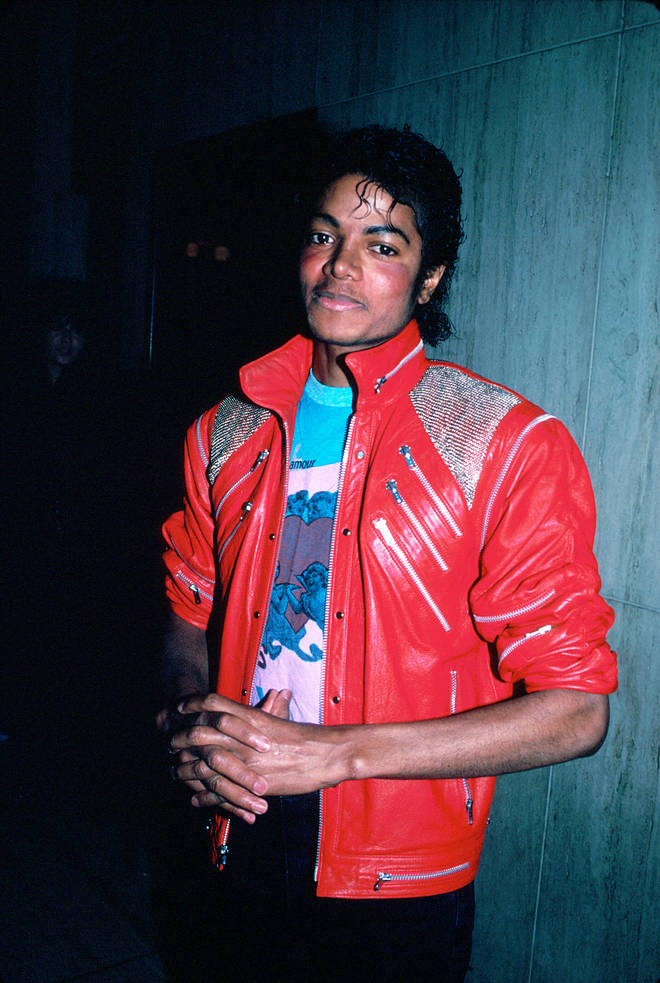 Michael Jackson pictured in 1983, the same year he released 'Billie Jean' and performed his first moon walk