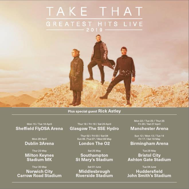Take That tour