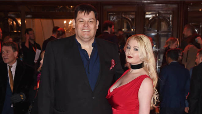 Mark Labbett and his wife Katie pictured in 2017