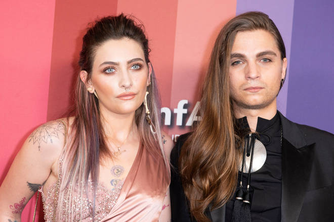 Paris Jackson and boyfriend Gabriel Glenn. Together they are the folk duo The Soundflowers.