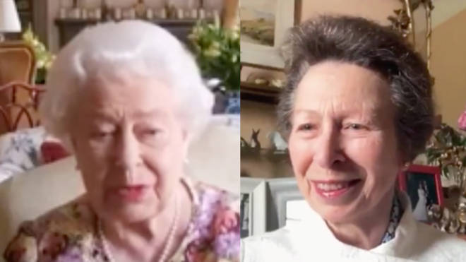 The Queen and Princess Anne did their first zoom together in June