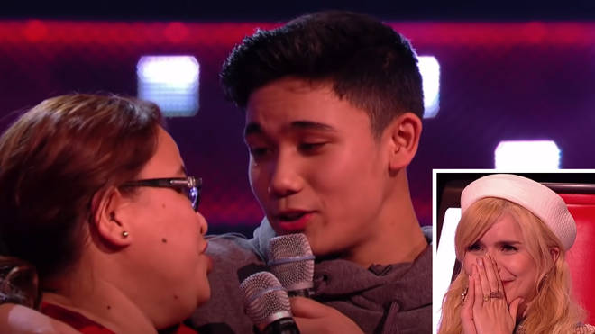 Joshua Regala brought the judges to tears when he duetted with his mum