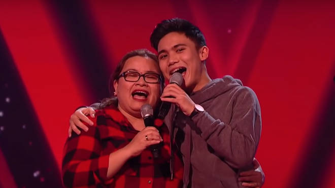 Joshua and his mum wowed the judges with their duet of Callum Scott's 'You Are The Reason'