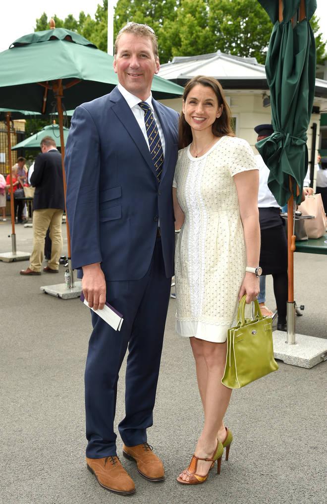 Matthew and wife Demetra in 2016